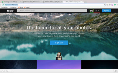 How to Add Flickr Galleries